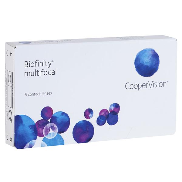 Biofinity multifocal (3 линзы)